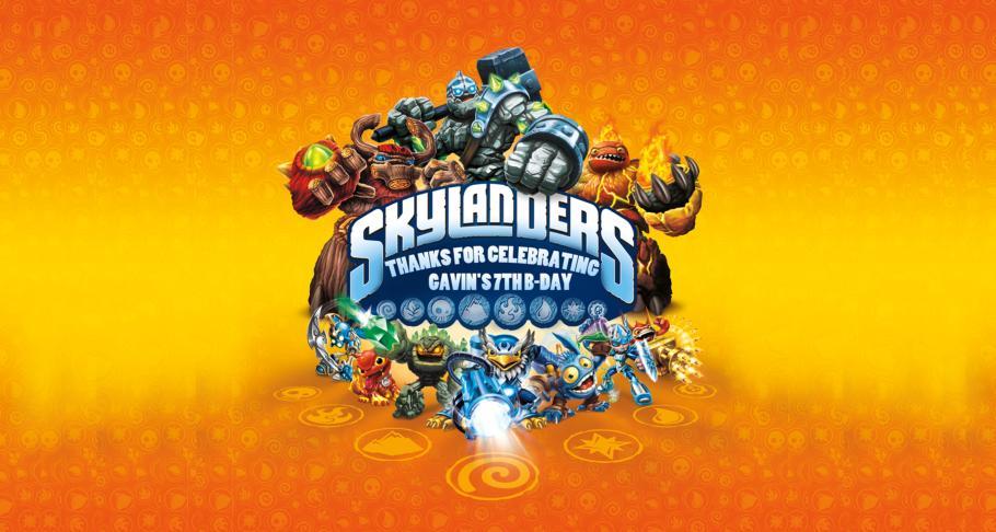 Creating A Skylanders Giant Birthday Party