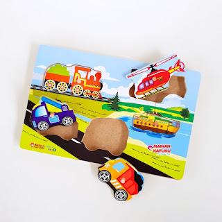 Mainan Anak Puzzle Chunky Transport