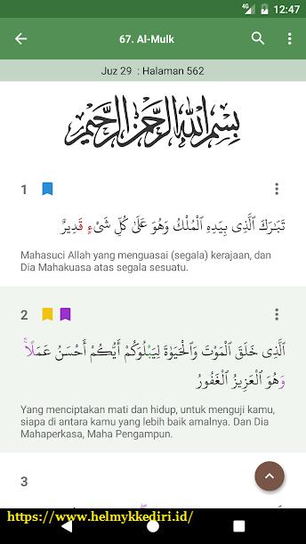 aplikasi Al-Quran bahasa indonesia untuk androids