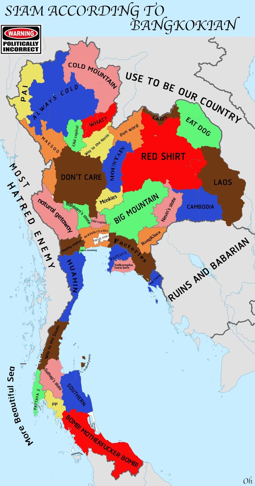 Thailand According To Bangkokians