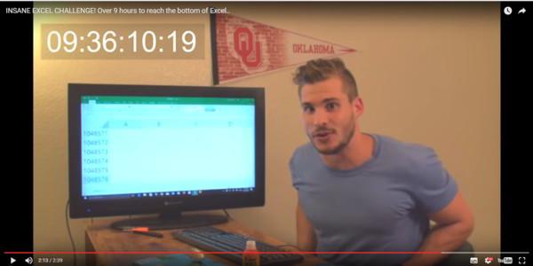 Cara Melihat/Menemukan Kolom Terakhir Excel Dengan Cepat