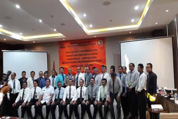 Jarasabhinaya Laporan Hasil Pelaksanaan Rakor Kementerian Lembaga Quick Wins Prog 4 T A 2016