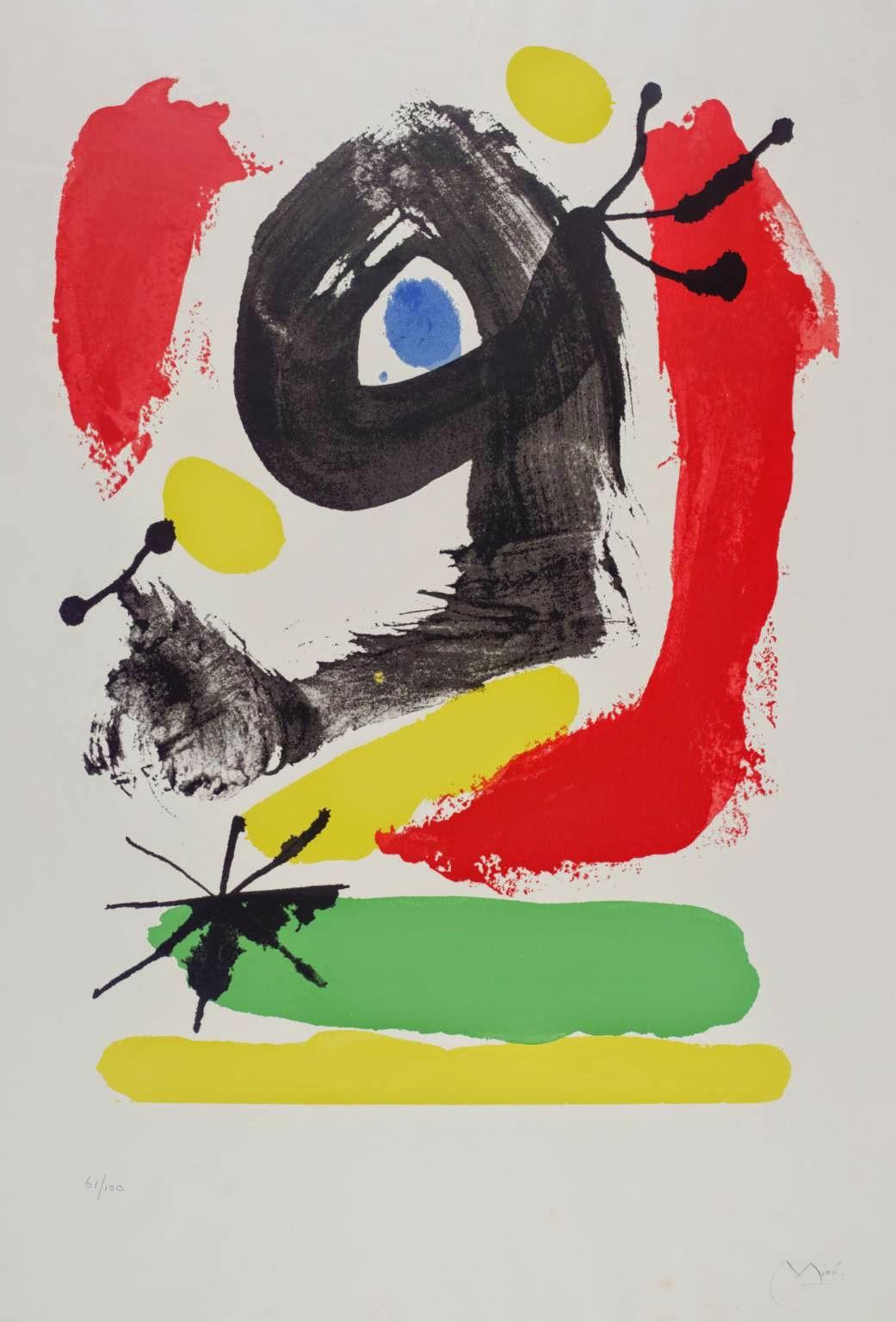 Sem Título - Miró, Joan e suas principais pinturas