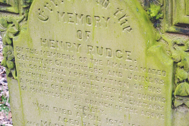 Henry Rudge Grave