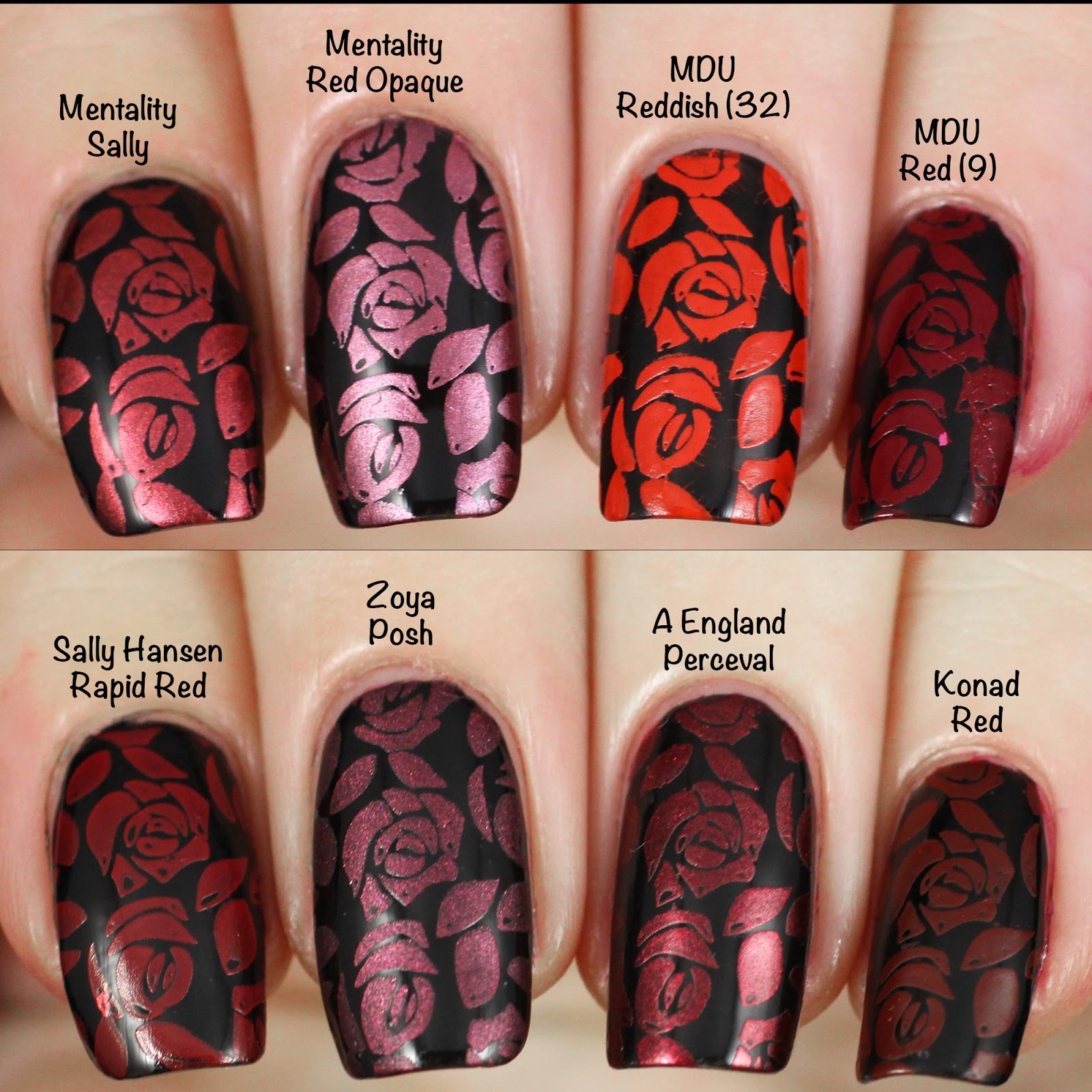 Copycat Claws: Stamping Polish Comparison