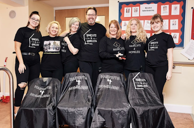 Haircuts4Homeless , a charity changing homeless people's lives reveals the amazing growth and support the organization amassed three and half years in. Haircuts4Homeless was awarded £46,040 of National Lottery funding through The People's Projects and its founder Stewart Roberts, estimates more than three hundred volunteers have performed an amazing thirty-five thousand haircuts across the UK.
