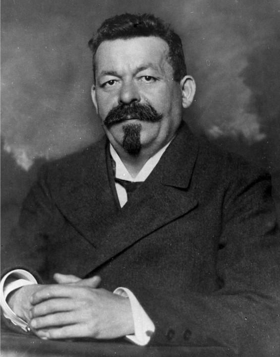 Ebertas, 1918 m.