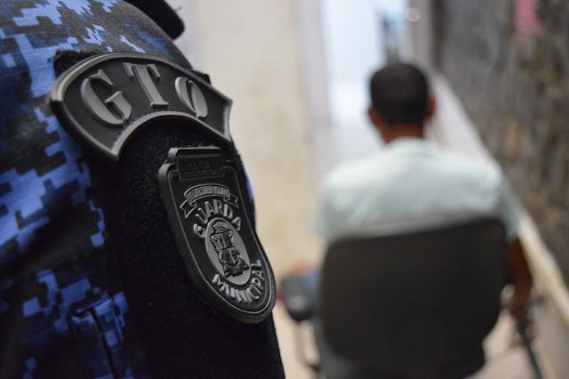 Guarda Municipal de Aracaju cumpre mandado de prisão por violência doméstica