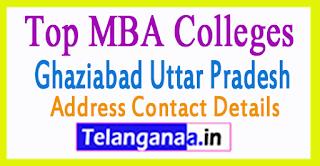 Top MBA Colleges in Ghaziabad Uttar Pradesh