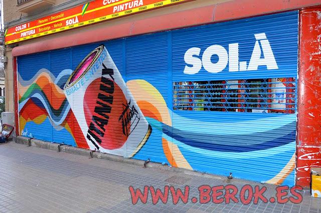 pintura de persianas locales Titanlux