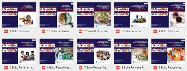 Buku Pedoman Implementasi Kurikulum 2013 PAUD