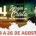 Igreja de Cristo celebra 54 anos em Felipe Guerra com programação festiva