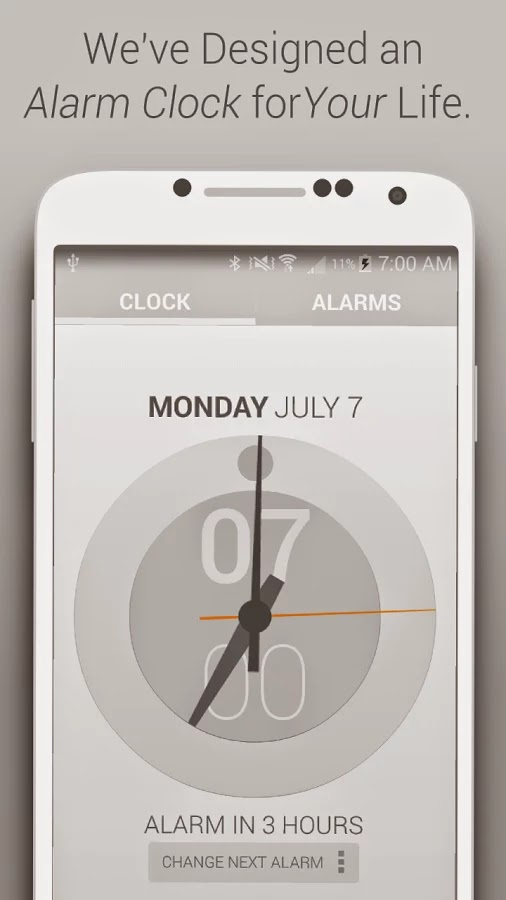 Life Time Alarm Clock