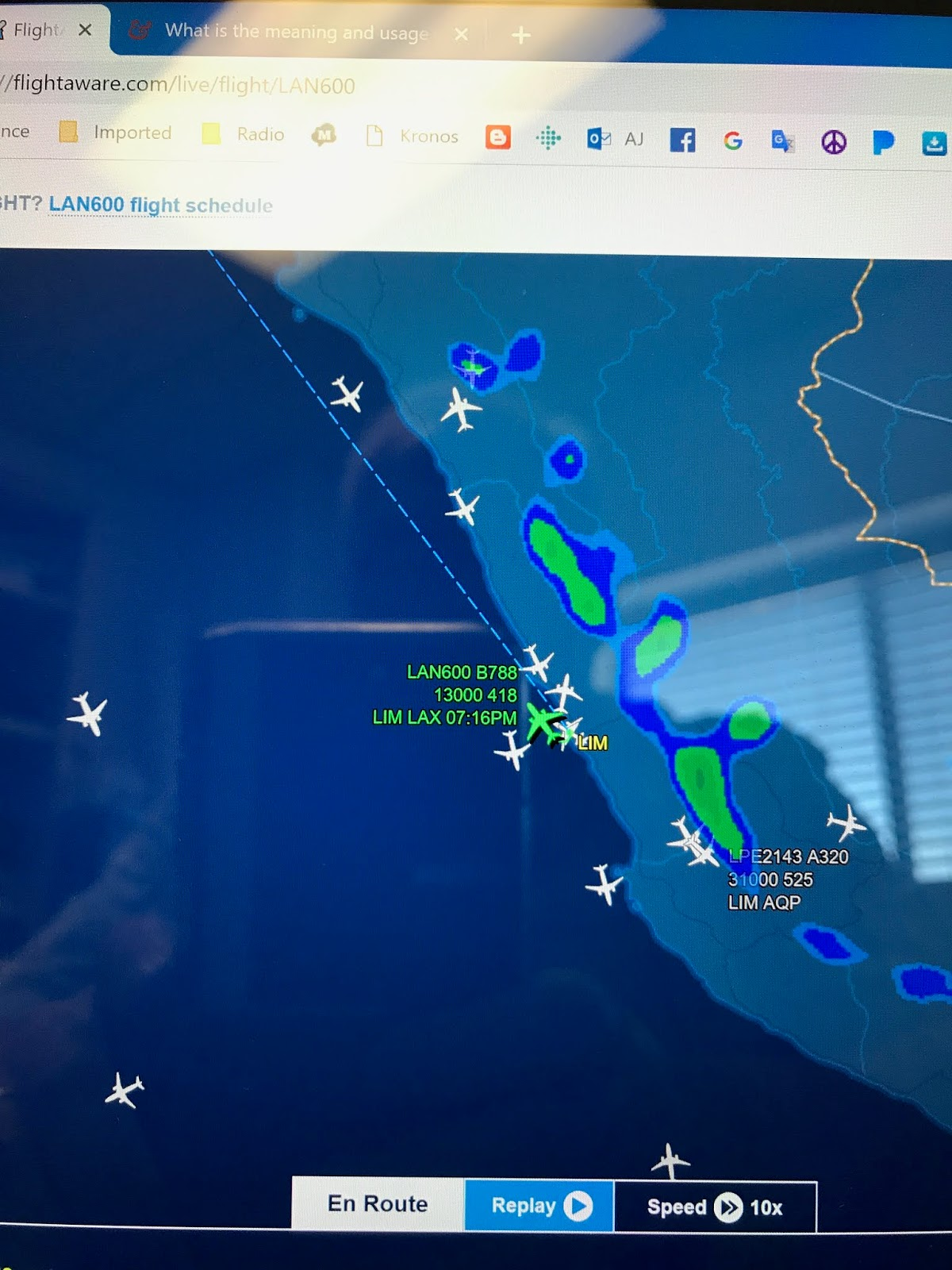 he has been following his flights throughout the whole trip he even celebrated as dallin crossed the equator and left spring to enter autumn