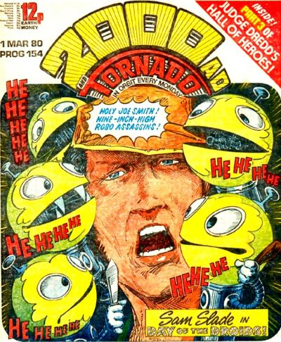 2000 AD Prog 154, Robo-Hunter