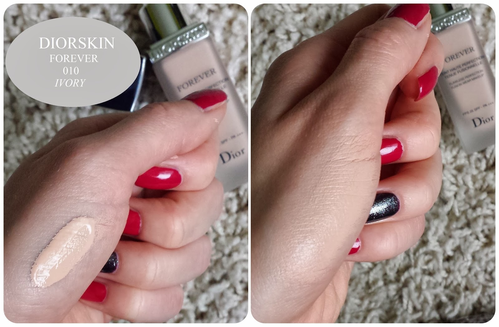 Ogromny Confession of a beautyholic...: DIORSKIN FOREVER 010 ivory EH81