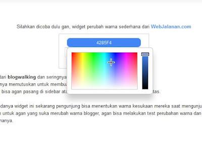 Merubah Warna secara Dynamically