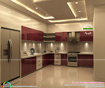 Superb Kitchen And Bedroom Interiors - Kerala Home Design