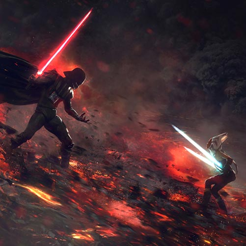 Vader Versus Ahsoka Wallpaper Engine