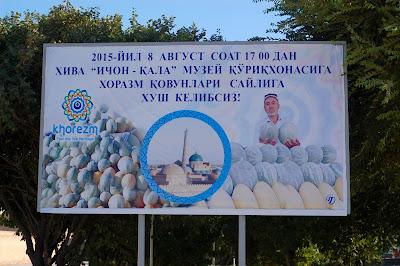 Le Chameau Bleu - Blog Voyage Ouzbékistan -  La fete du melon - Khiva Ouzbékistan