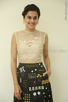 Taapsee Pannu in transparent top at Anando hma theatrical trailer launch ~  Exclusive 103.JPG