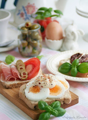 kanapki z jajkiem, szybkie kanapki, co na śniadanie, daylicooking