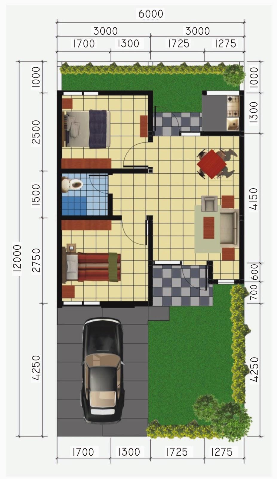 Batu Indah Regency: Rumah Type 36/72