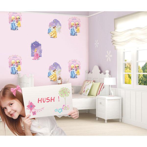 Giấy dán tường phòng ngủ dễ thương nhất cho bé