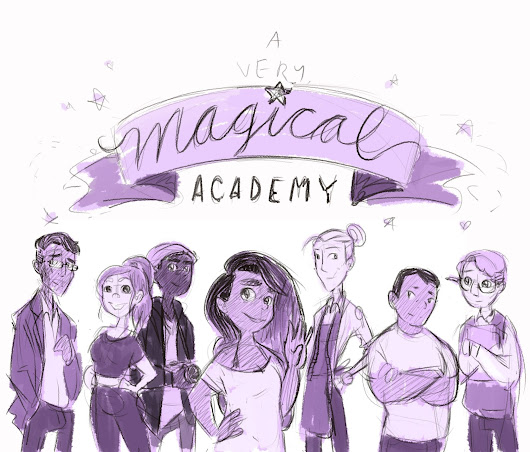A Very Magical Academy characters