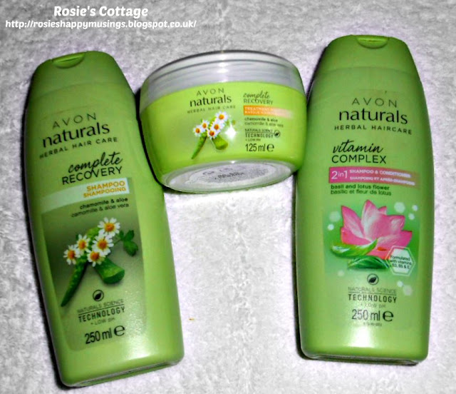 Avon Naturals Hair Care Products