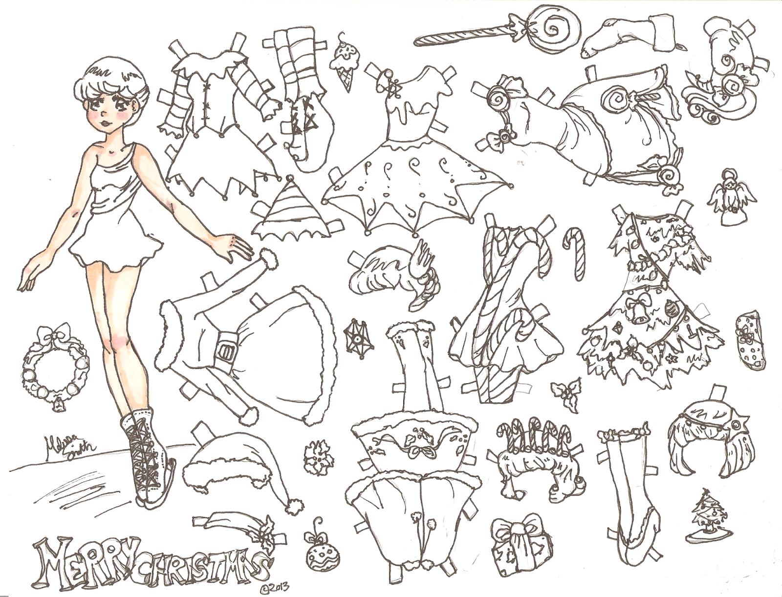 Miss Missy Paper Dolls: December 2013