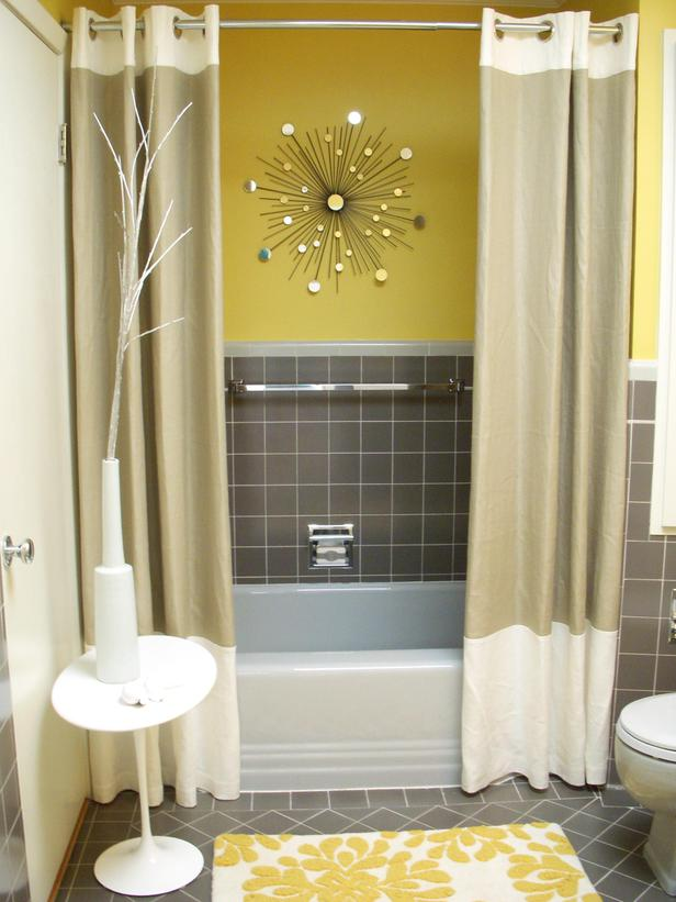 These Neutral Shower Curtains Calm And Center Any Bathroom E