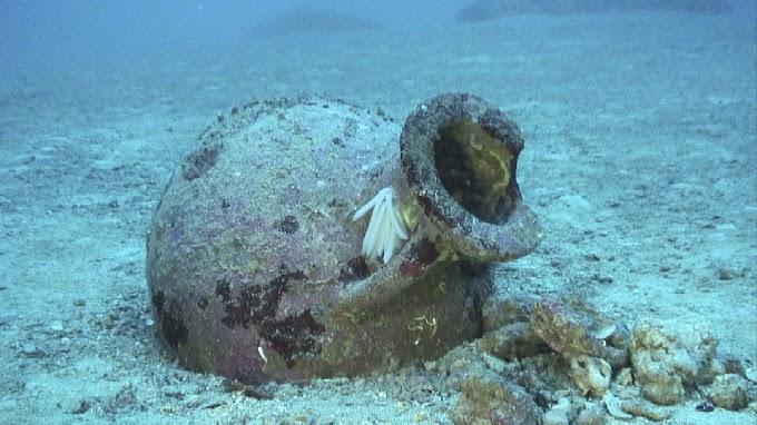 22 ελληνικοί αμφορείς από την αρχαιότητα βρέθηκαν στον βυθό  κοντά στην ακτή της Β. Ηπείρου