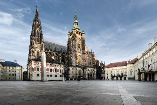 Segundo dia de viagem em Praga