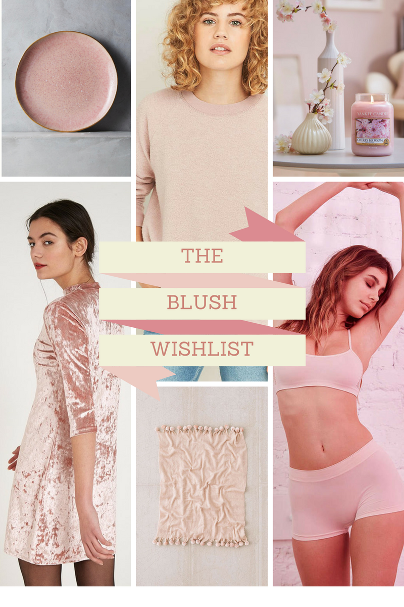 Blush Spring Wish List