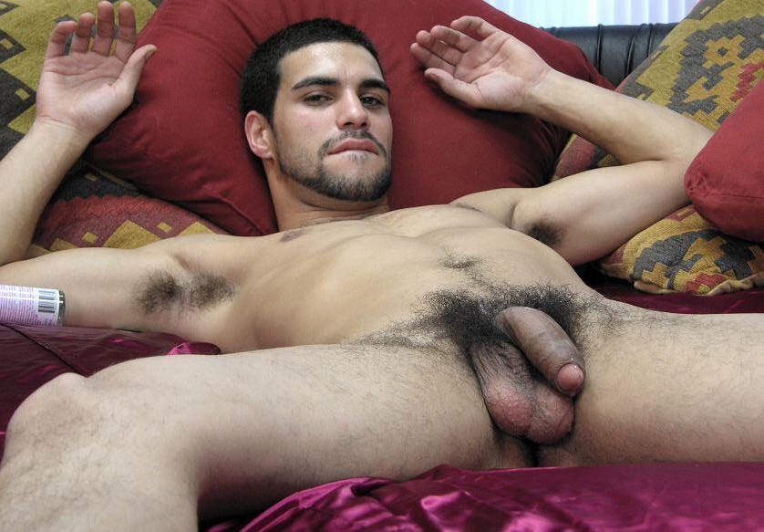 Furry nude masculine men
