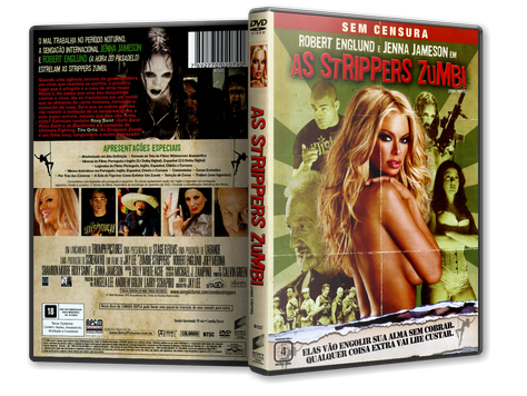 Capa DVD As Strippers Zumbi (Oficial)