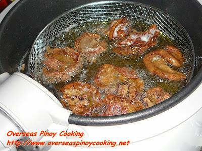 Chicharon Bulaklak - Cooking Procedure