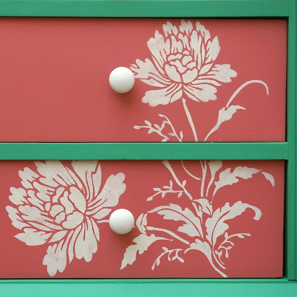Una cajonera floral - Studio Alis