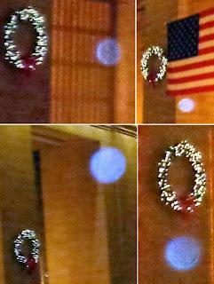 orbs near wreaths