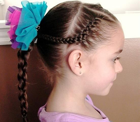 Peinados Y Moda Peinado Con Trenzas Para Ninas En Fiesta De Cumpleanos