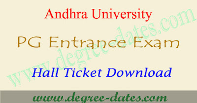 AUCET 2017 hall ticket download au pgcet results date