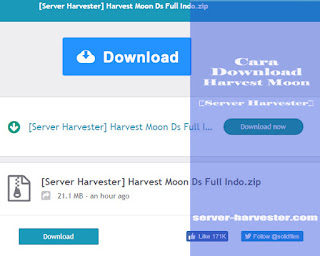 Cara Download Harvest Moon [Server Harvester]