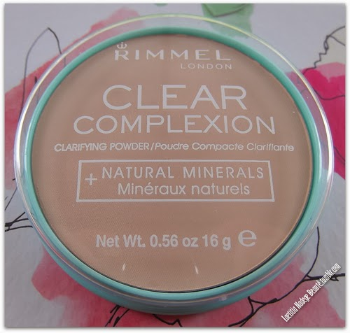 RIMMEL LONDON Clear Complexion Clarifying Compact Powder