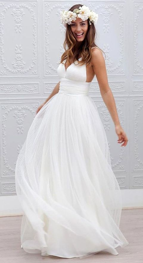 The flower girl & dress up to get more pretty: Second-time brides ...