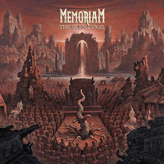 "Memoriam - ""Bleed The Same"" (lyric video) from the album ""The Silent Vigil"""