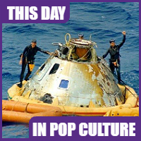 Apollo 13 arrived back to earth on April 17, 1970.