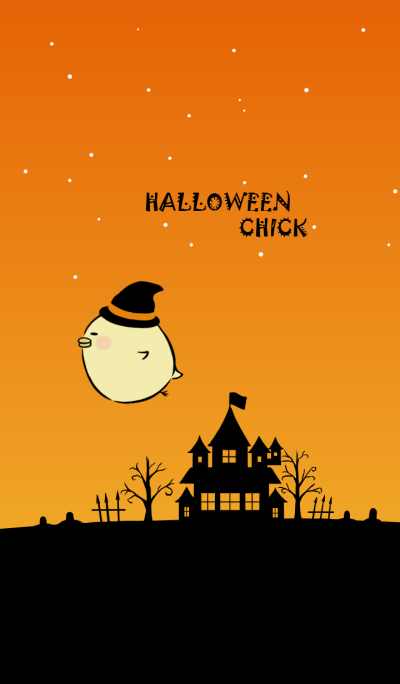 HALLOWEEN CHICK (revised edition)
