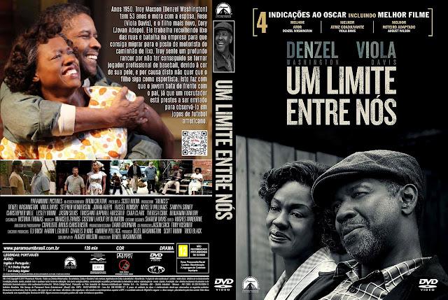 Capa DVD Um Limite Entre Nós [Exclusiva]