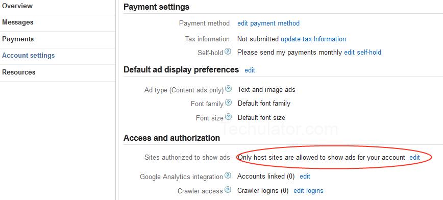 Cara Nak Tahu Adsense Full Account atau Hosted?